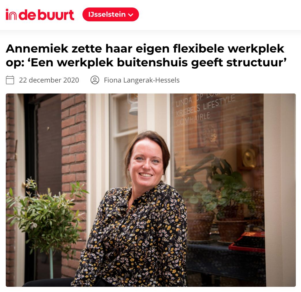 Indebuurt IJsselstein over Op Buro